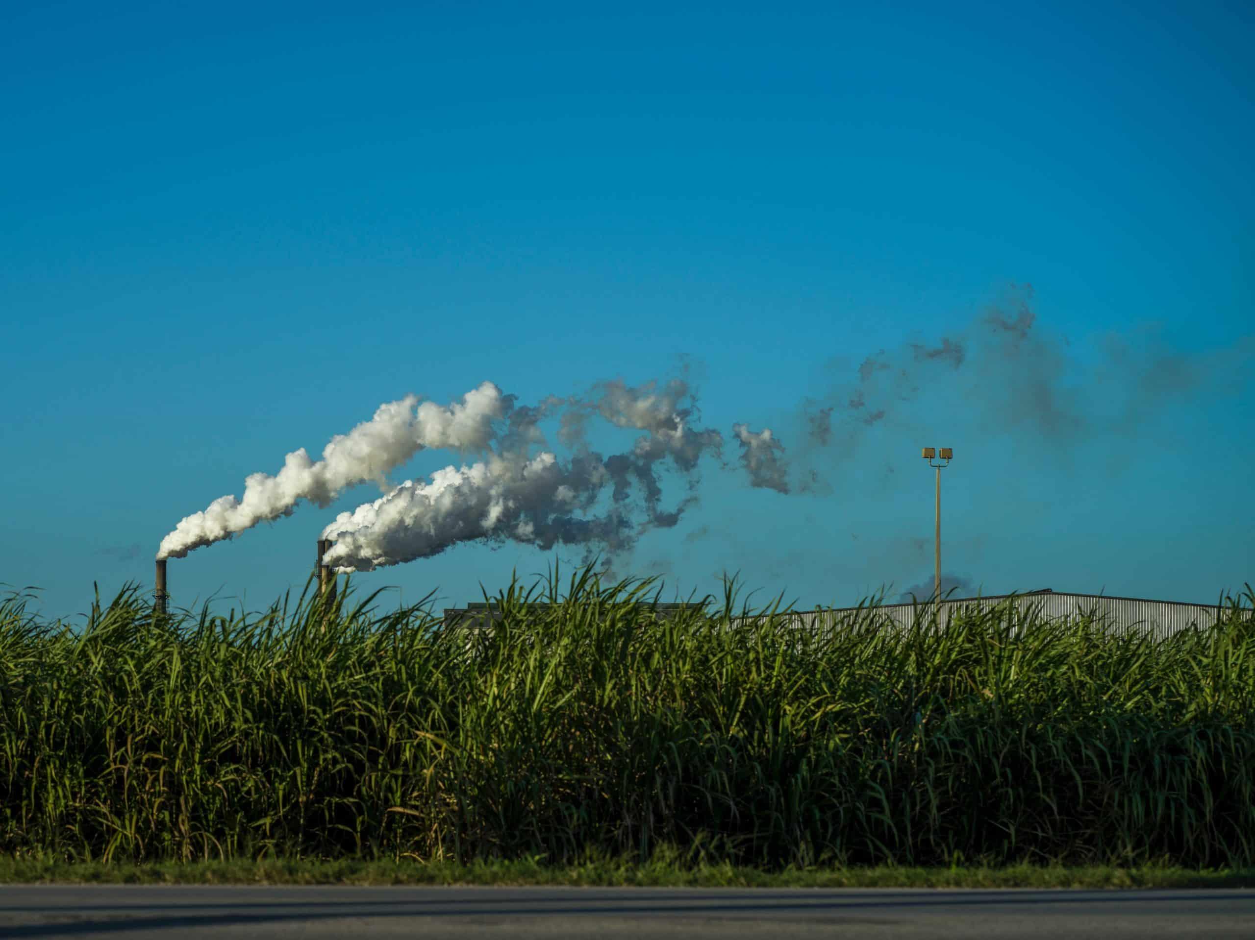 une usine d'incinération de déchets